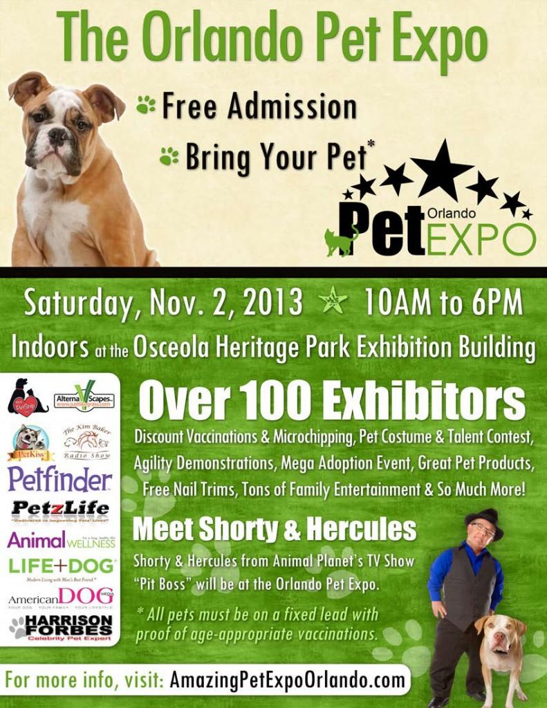 2013 Pet Expo Orlando Flyer