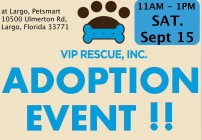 2018 largo VIP ADOPTION EVENT